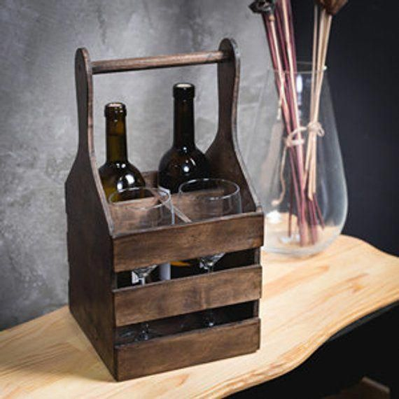 Use A Single Of Such 100 Free Diy Wine Rack Plans To Build A Violet Shelf For Your Own Personal Home Or Ma Wood Wine Holder Wooden Wine Rack Rustic Wine Racks
