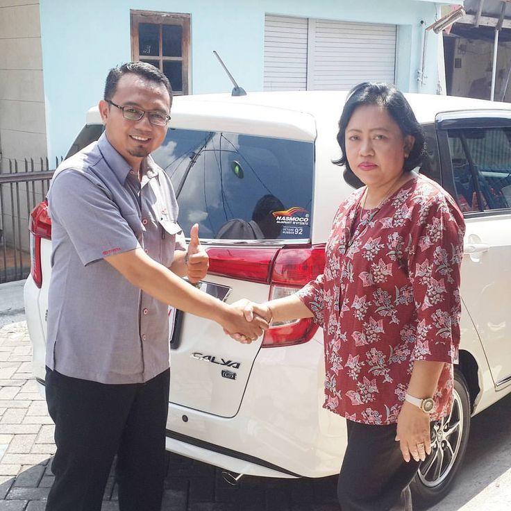 Terima kasih atas kepercayaan Keluarga Ibu Setia Astuti yang telah melakukan pembelian 1 unit Toyota Calya melalui ToyotaSemarang.com Semoga berkah untuk keluarga…...