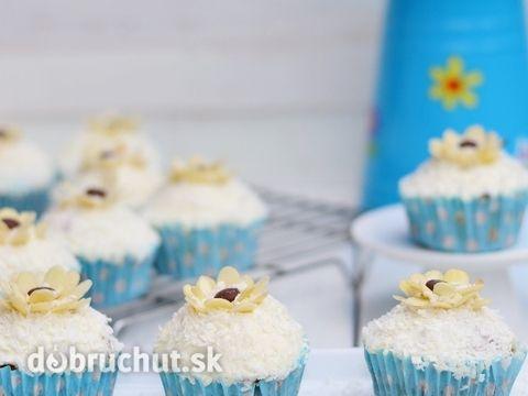 Fotorecept: Kokosové muffiny