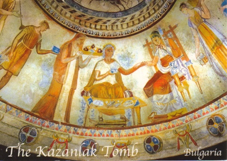 Discovered In 1944 This Tomb Dates From The Hellenistic Period Around End Of