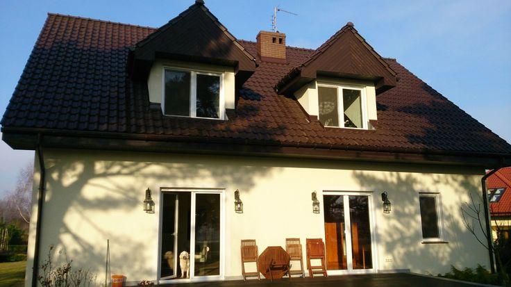 Elewacja tylna budynku  #dom #projekt