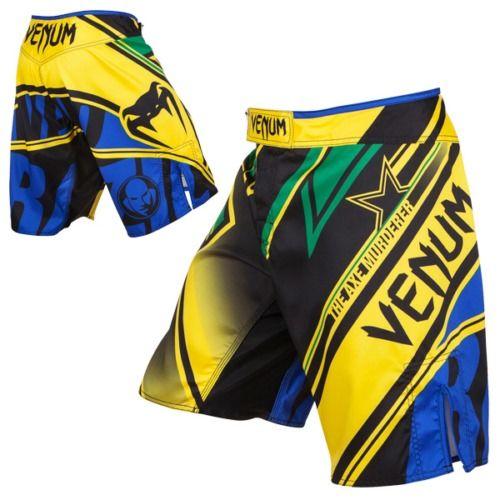 Pantaloncini VENUM MMA Wand\'s Conflict Yellow/Blue/Green