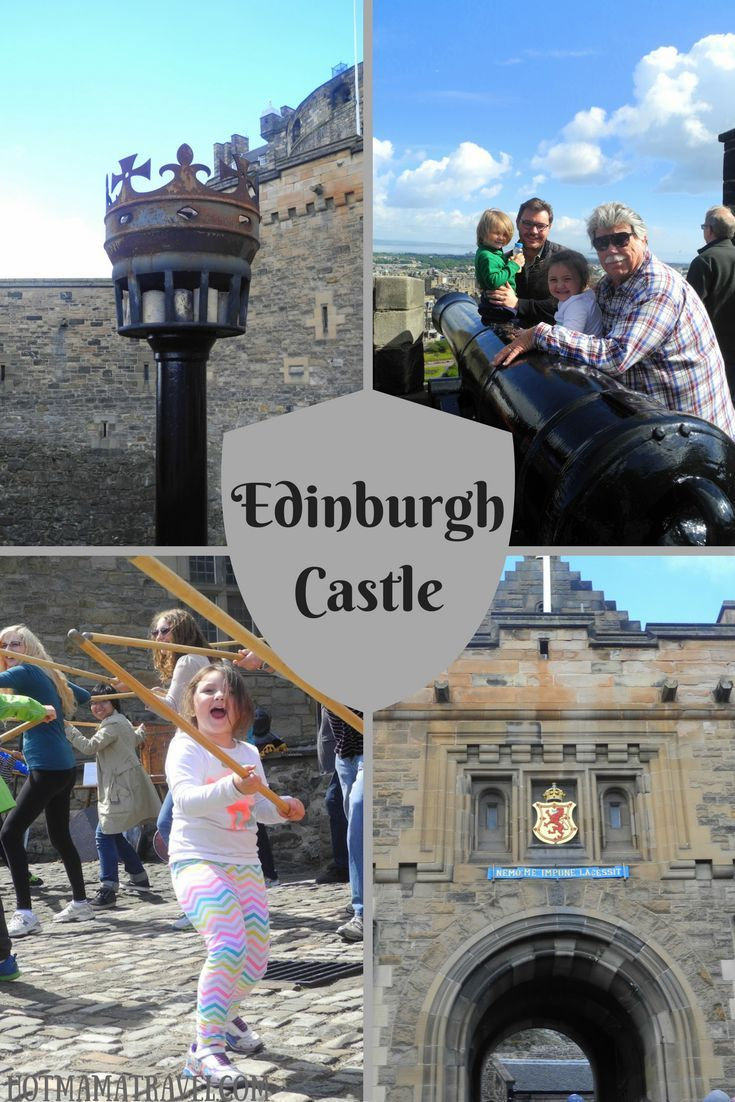 Want to visit one of Scotland's most famous castles? What you know about visiting Edinburgh Castle with kids.