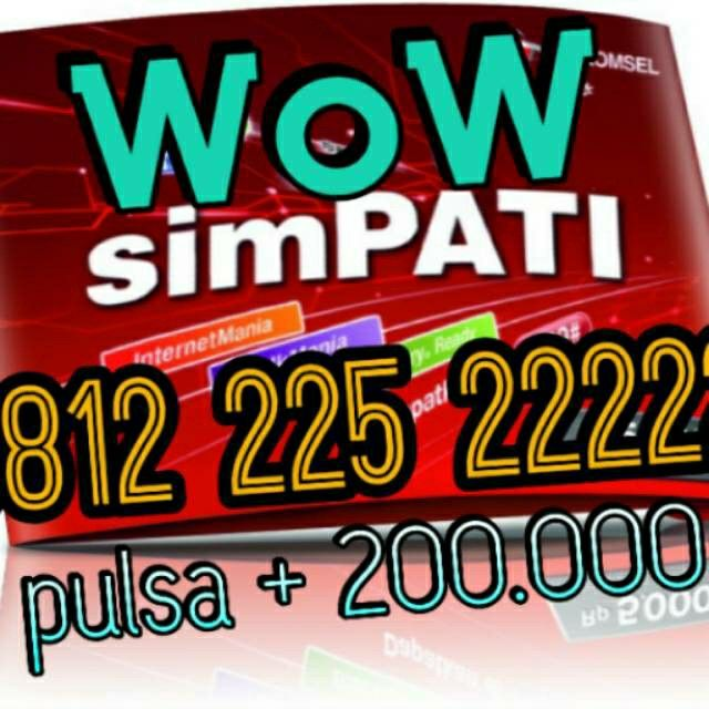 Saya menjual Simpati Nomor Hoki/Cantik Panca 0812 225 2222 seharga Rp19.500.000. Dapatkan produk ini hanya di Shopee! http://shopee.co.id/emirates/2426164 #ShopeeID