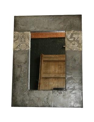 mirall de mides 60x80cm  ciment+pigments naturals
