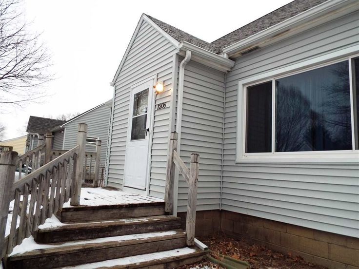 1206 Columbia St, Waterloo  $58,000 Looking for space? This 2-3 bedroom, 1 bath charmer has both living space AND garage space! Over 1500+ square feet of finished living space includes eat-in kitchen, separate dining area and large living room. Open master bedroom dormer with vaulted ceilings, partially finished lower level with family room & non-conforming 3rd bedroom. Large fenced yard, TWO detached double garage (one single, one double). PRICED FOR A QUICK SALE!