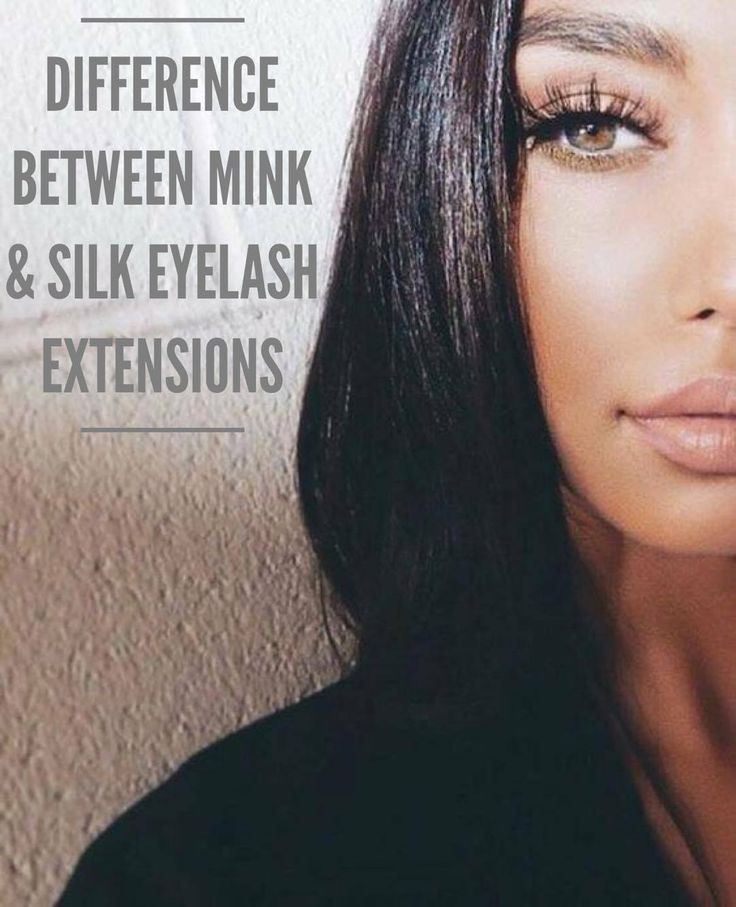 Have you ever wondered what the difference was between Mink and Silk Eyelash Extensions?! Wow, was I ever wrong!