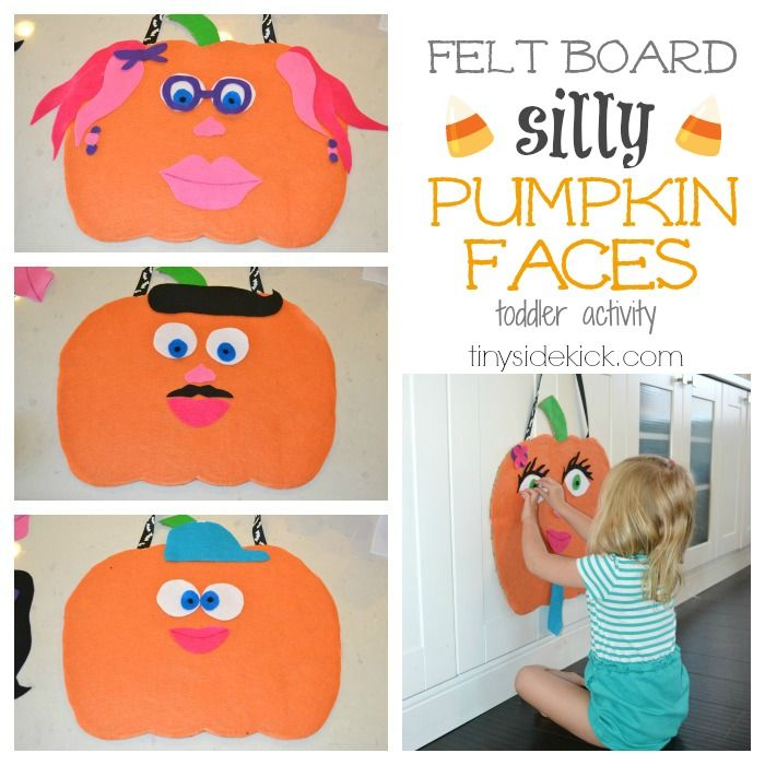 halloween felt board stories