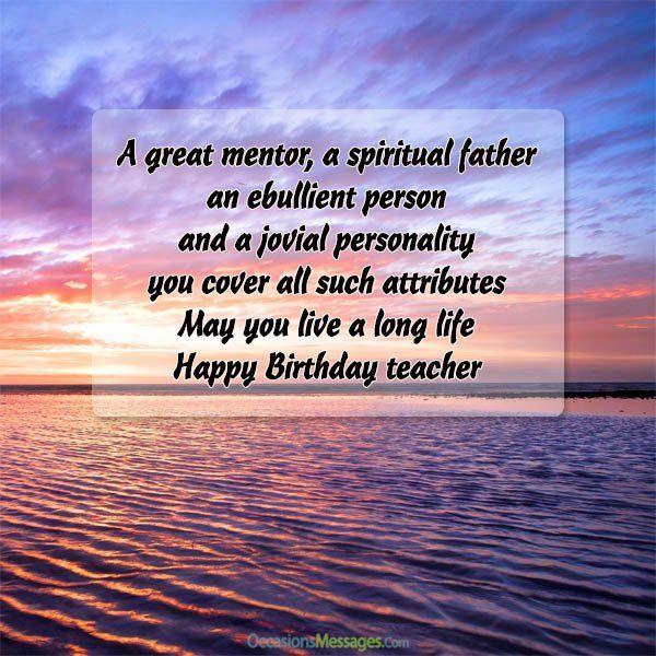 Happy Birthday Cards For Teacher Happy Birthday Teacher Birthday Wishes For Teacher Happy Birthday Frame