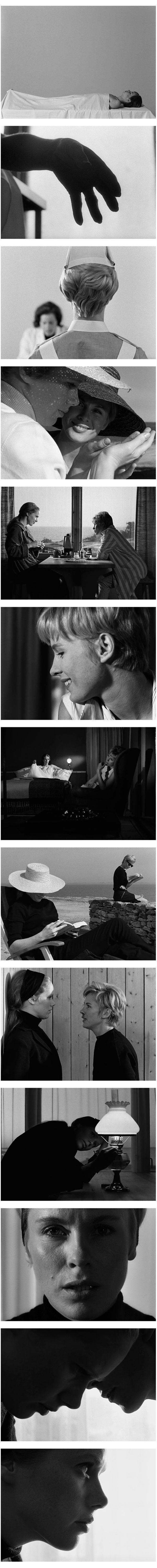 Persona (1966). Directed by Ingmar Bergman. Cinematography by Sven Nykvist.
