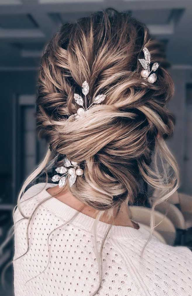 64 Chic Updo Hairstyles For Wedding And Any Occasion Headband
