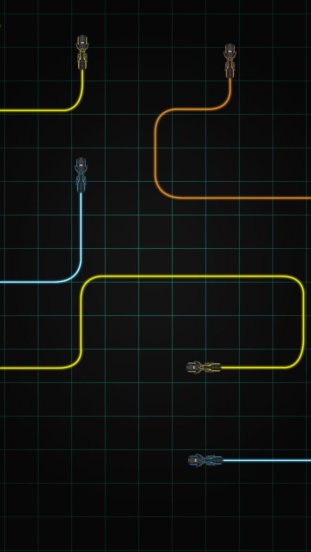 Tron Legacy Iphone 5 Wallpaper By Deebeeart On Deviantart Tron Legacy Tron Light Cycle Abstract Iphone Wallpaper