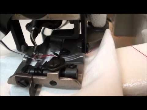 (14) Blindhemmer Set Up and Sewing - YouTube