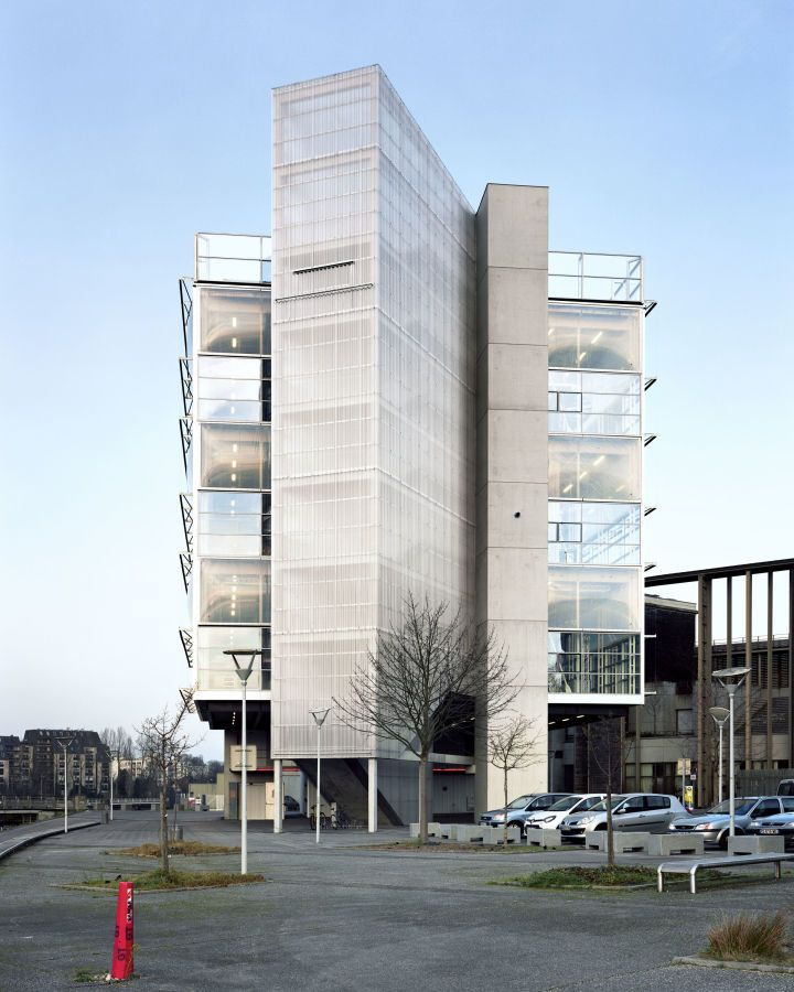 Bruther New Generation Research Center Peninsula Caen Research Centre Architecture Exterior Commercial Architecture