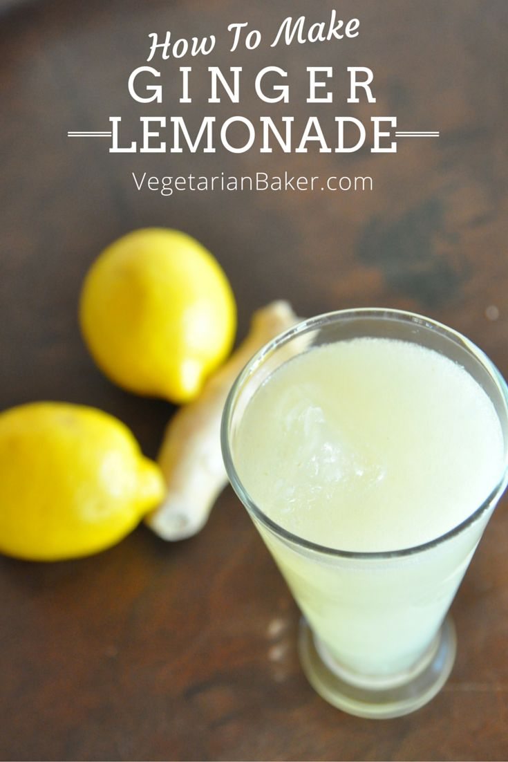 How To Make Ginger Lemonade | The Perfect Detox Drink | This delcious ...