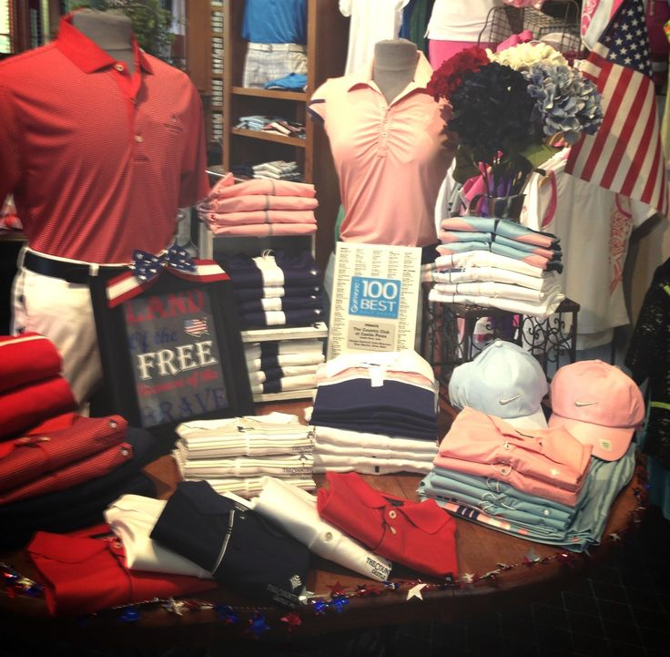 4th of july golf apparel