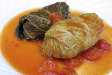 Stuffed Cabbage Rolls Dinner - Charles Groux/Photodisc/Getty Images