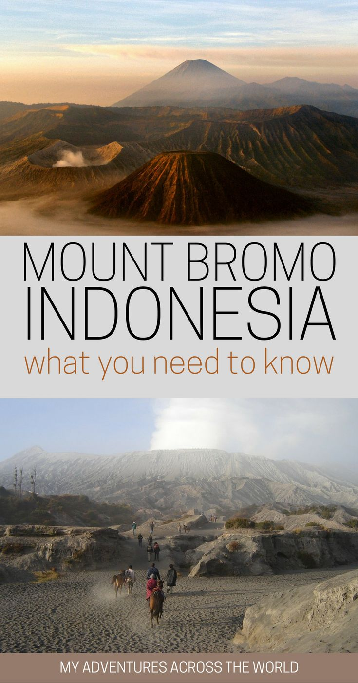 All you need to know about Mount Bromo and how to hike up for sunrise + Mount Bromo Indonesia travel tips and tricks on how to do it in a sustainable way. #MountBromo #Indonesia via @clautavani