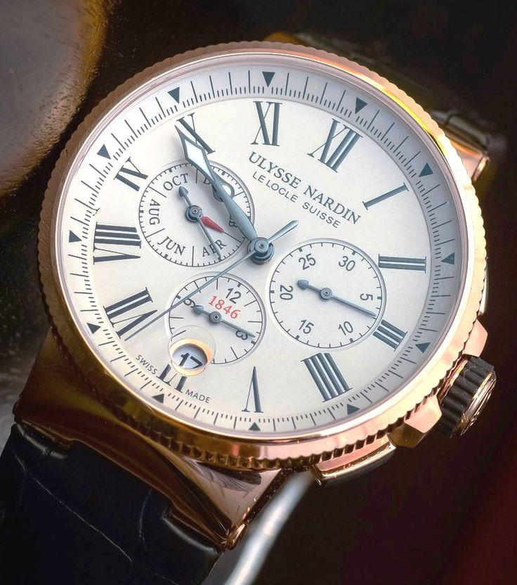 Ulysse Nardin-Marine Chronograph Annual Calendar 2016