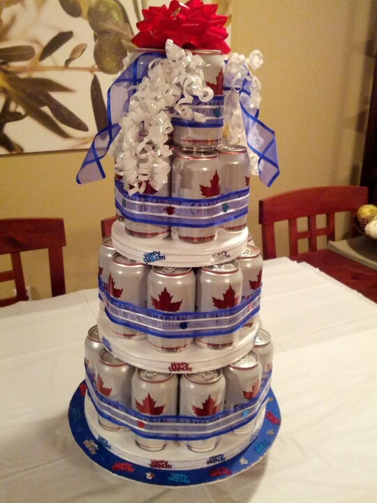 13 Best Beer Can Cake Images On Pinterest