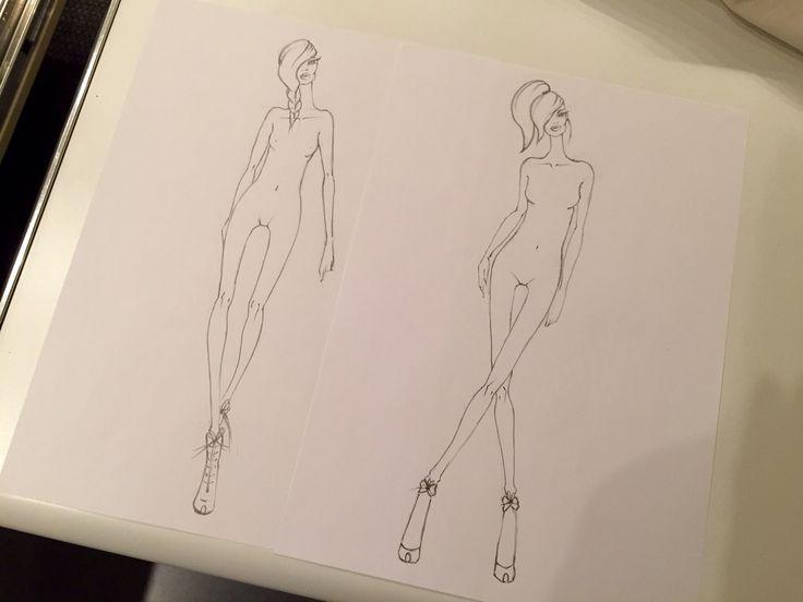 #figurinomoda #fashiondrawing #catwalk #mycollection