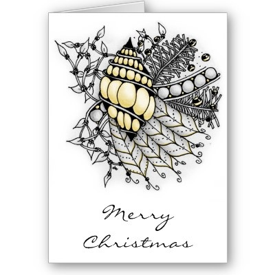 Yellow Ornament Cards