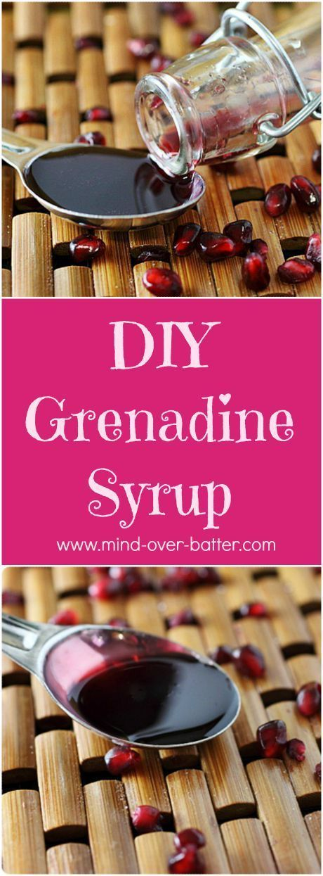 DIY – Grenadine Syrup | Recipe | Homemade, Cocktails and ...