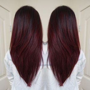 V-Haircuts-for-Long-Hair-Dark-Red-Violet-Plum-Ombre-Balayage-Winter-Hair-Colors-2016-2017
