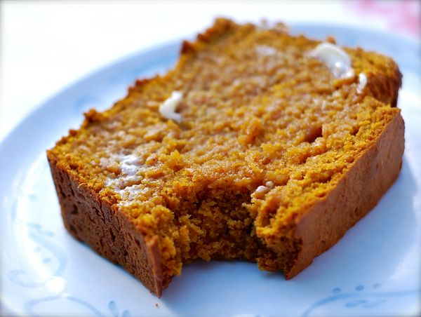 browned butter butterscotch pumpkin bread- I can make this with gluten free baking mix!