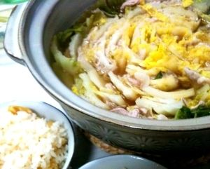 「【失敗なしっ!】白菜と豚肉のミルフィーユ鍋♪」こんなに手間要らずなレシピですが、彼も絶賛でした^^【楽天レシピ】