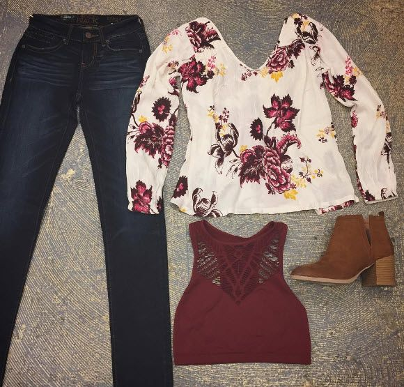 Florals for fall.