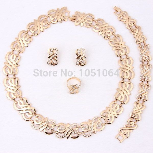 Find More Jewelry Sets Information about Wholesale & Retail top quality Dubai African Chunky 18k Gold Plated Eight Shaped crystal Necklace Jewelry Sets,High Quality jewelry collar,China bracelet big Suppliers, Cheap bracelet shoe from Rainbow Jewelry Co., Ltd. on Aliexpress.com