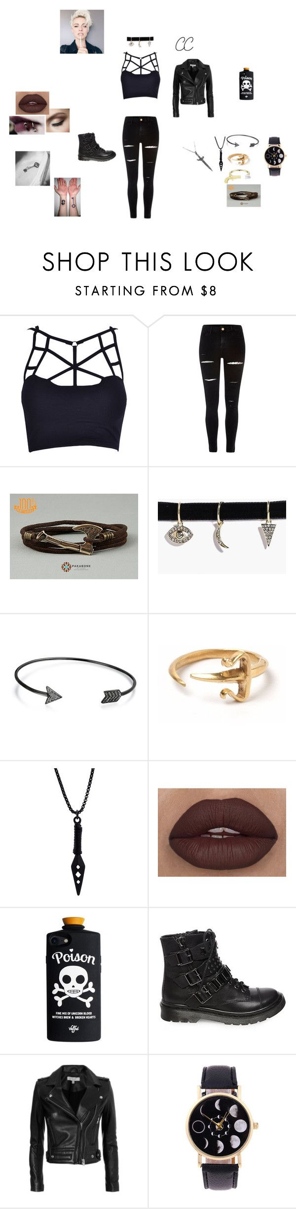 """""""CC bad girl"""" by carson-1005 on Polyvore featuring River Island, Finn Jewelry, Boohoo, Bling Jewelry, LeiVanKash, Steve Madden and IRO"""