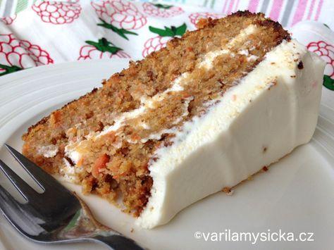 Pokud se potřebujete opravdu vytáhnout s něčím dobrým, tenhle dort je jistota...