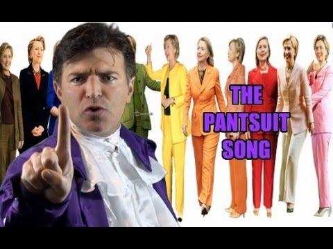 The Hillary Pantsuit Song - YouTube