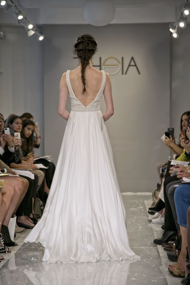 84 best Designer: THEIA images on Pinterest | Short wedding gowns ...
