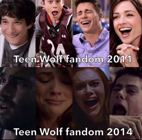 tw. It was just supposed to be a cheesy show about teenagers and hs drama!!!