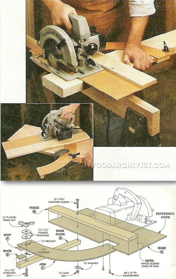 Circular Saw Cut Off Jig - Circular Saw Tips, Jigs and Fixtures