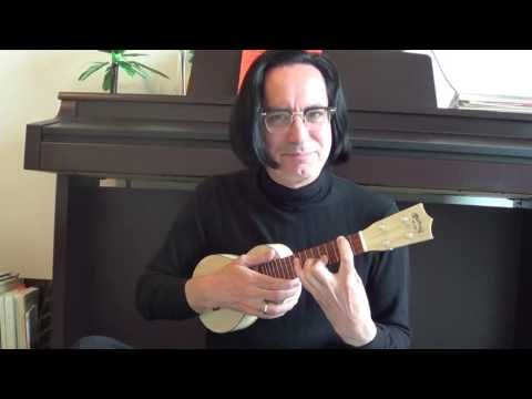 (39) Completely Useless Ukulele Tip #1: Play Same Note on all 4 Strings - YouTube