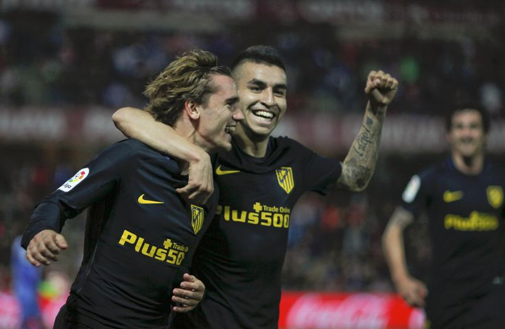 @atleticomadrid #Griezmann y #Correa #Atleti #AúpaAtleti #LaLiga #AtleticoMadrid #9ine