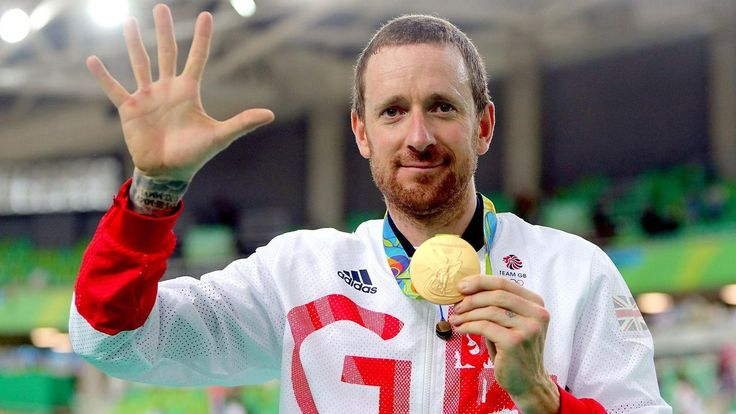 Wiggins became the first competitor to win eight Olympic medals, five of them gold, with victory in the team pursuit