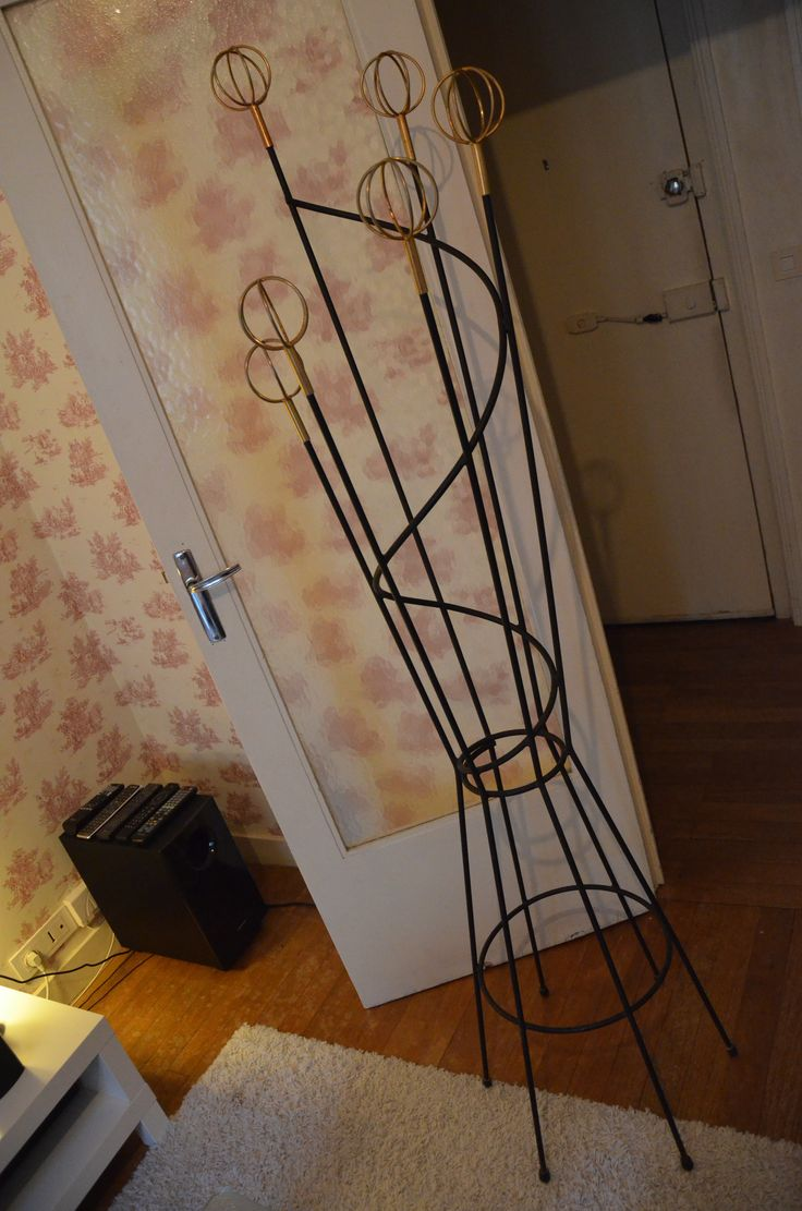 Porte Manteaux Astrolabe #astrolabe #porte-manteaux #roger #féraud #vintage #home #interior #design #collectorchic