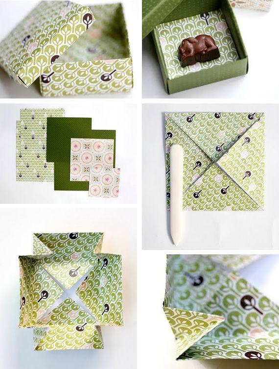 DIY Origami box PD