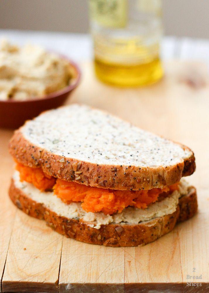 Receta De Sandwich Hummus Y Batata