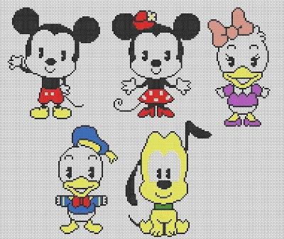 Disney Perler bead