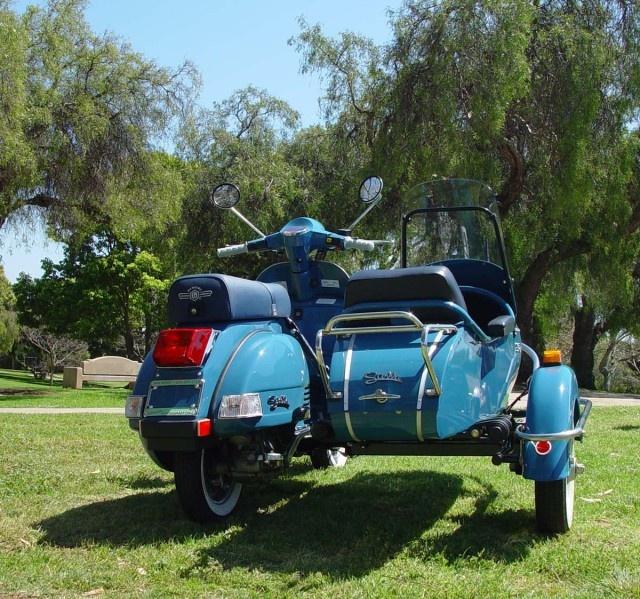 214 best images about Vespa Sidecar on Pinterest   Motor ...