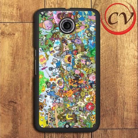 Adventure Time All Character Nexus 5,Nexus 6,Nexus 7 Case