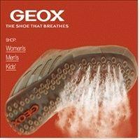 """Geox (marque italienne) est une marque de chaussure côtée en bourse depuis 2004. Leurs chaussures ont la particularité d'être dotées d'une technologie anti transpiration des pieds. De petits trous sous la semelle permettent l'aération dans la chaussure et donc un bon confort. """"Geox, les chaussures qui respirent"""""""