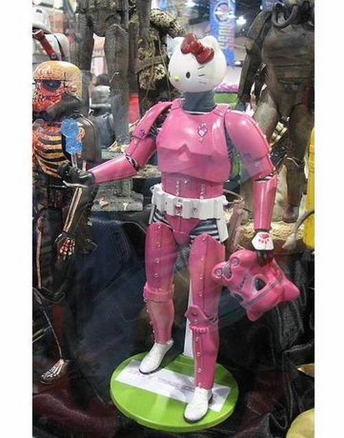 Hello Storm Trooper?Hello Stormtroopers, Storm Troopers, Storms Troopers, Hello Stars, Kitty Stormtroopers, Pink Stormtroopers, Stars Wars, 3Hello Kitty3, Kitty Storms
