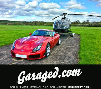 Are you planning on going to Goodwood Festival of Speed but wish you could avoid the traffic? Don't forget we are now offering helicopter charters to major UK motoring events!  Silverstone? The Goodwood Revival? You don't want to wreck the start of your day sitting in traffic. Arrive relaxed and in style! For further information, email info@garaged.com.